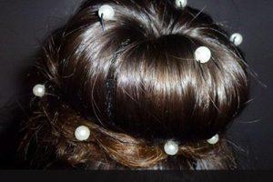 technique cheveux à perles