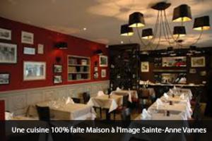Une cuisine 100% faite Maison à l'Image Sainte-Anne Vannes