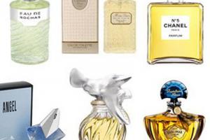 Parfums pour la fête des mères