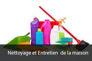 Nettoyage et Entretien de la maison