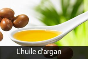 La beauté naturelle du corps avec L'huile d'argan