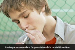 La drogue en cause dans l'augmentation de la mortalité routière