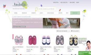 vente sandale en cuir bébé