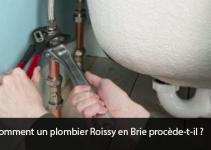 plombier Roissy