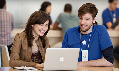 service Apple store