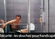 Sécurité : les douches pour handicapé