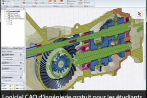 Logiciel CAO d'ingénierie gratuit pour les étudiants