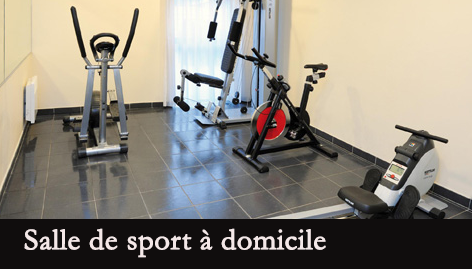 salle de sport domicile avec dkn store. Black Bedroom Furniture Sets. Home Design Ideas
