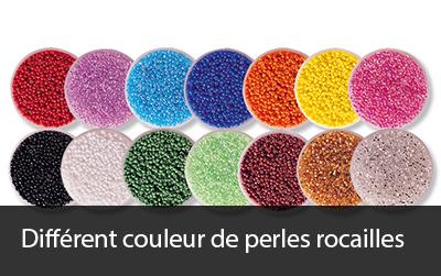 couleur perles rocailles