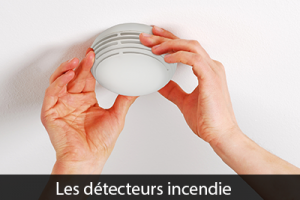 Les détecteurs incendie