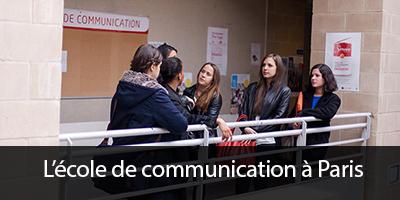 ecole de communication a paris