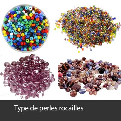 type de perles rocailles