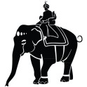 autocollant d'un Maharaja
